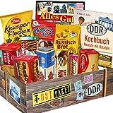 DDR Keks Box mit DDR Waren | Geschenkset DDR mit Kultprodukten