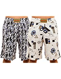 Brubaker Lot de 2 Bermudas plage Relaxed Fit style Surfer