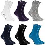 Rainbow Socks - Niños y Niñas - Calcetines de Algodón - 6 Pare