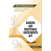 Banking and Negotiable Instruments Act (Questions and Answers)