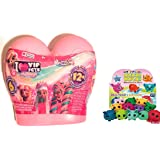 TOYSGIOCATTOLI I Love VIP Pets Mini Fans - VIP Pets Gli Originali Modello con Cuore Rosa + Omaggio Come Foto
