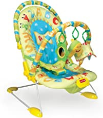 LuvLap Alpha Baby Bouncer with Soothing Vibration and Music (Multi Color)