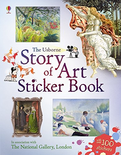 Story of Art Sticker Book (Information Sticker Books)