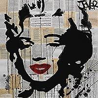 """Loui Jover """"Marilyn"""" lienzo impresiones, multicolor 40x 40cm"""