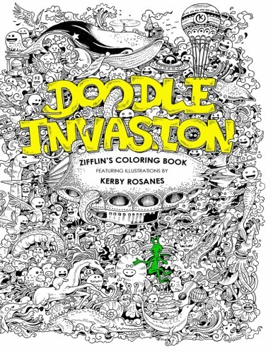 (Doodle Invasion: Zifflin's Coloring Book)