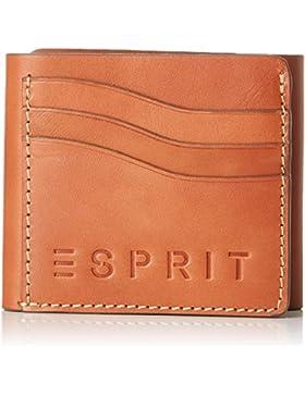 Esprit - 028ea2v001, Carteras Hombre, Marrón (Camel), 1x9.5x11.5 cm (B x H T)