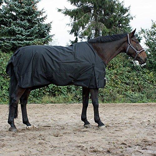 jw reitsport Regendecke mit Fleeceinnenfutter schwarz 115 cm