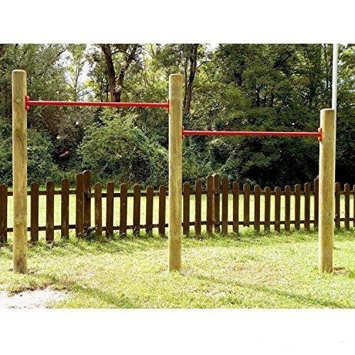 Preisvergleich Produktbild Gartenpirat Doppelreck Turnstangen / Turnreck für den Garten von Gartenpirat®
