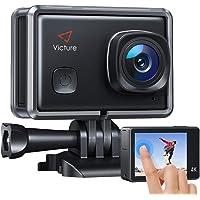 Victure AC900 Action Cam 4K WiFi 20MP Touchscreen 30M EIS Ultra Full HD Wasserdicht 170 ° Weitwinkel Verstellbar 2…