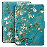 Ayotu Colorful Case for Kindle Paperwhite Auto Wake/Sleep Smart Protective Cover - Fits kindle Paperwhite Prior to 2018 (Not Fit All-New Kindle Paperwhite 10th Gen 2018) K5-09 The Apricot Flower