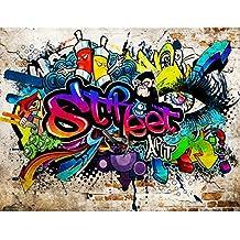 Amazonfr Papier Peint Graffiti