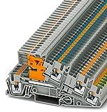 PHOENIX CONTACT Installationsschutzleiterklemme PTI 2,5-PE/L/NT, 50 Stück, 3213946