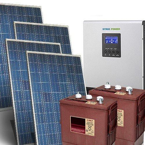 Solarhaus Kit Pro 5Kw 48V OFF GRID SOLAR SYSTEM STAND allein Photovoltaik-Anlage