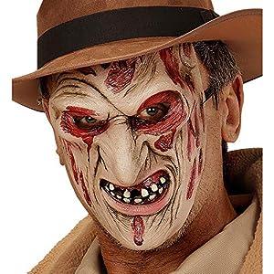 WIDMANN Máscara Asesino Quemado Adulto Halloween - Única