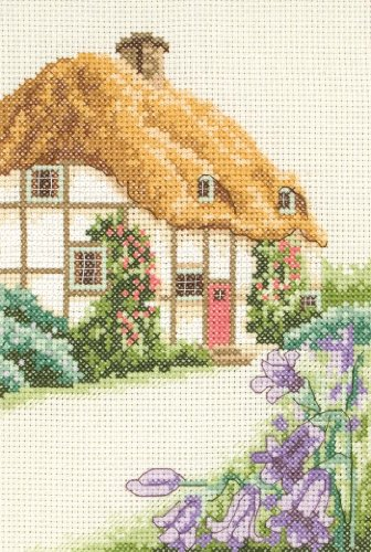 Anchor Starters Thatched Cottage Cross Stitch Kit