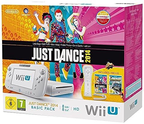 Console Nintendo Wii U 8 Go blanche + Just Dance