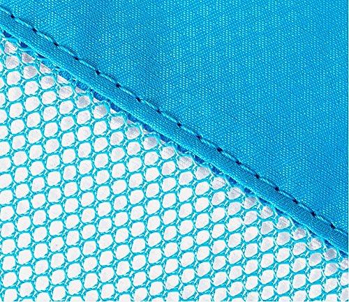 Qearly Mode Packwuerfel Set Packtaschen Organizer Reisegepaeck Beutel Reise Kleidertaschen Fuer Koffer-Blau