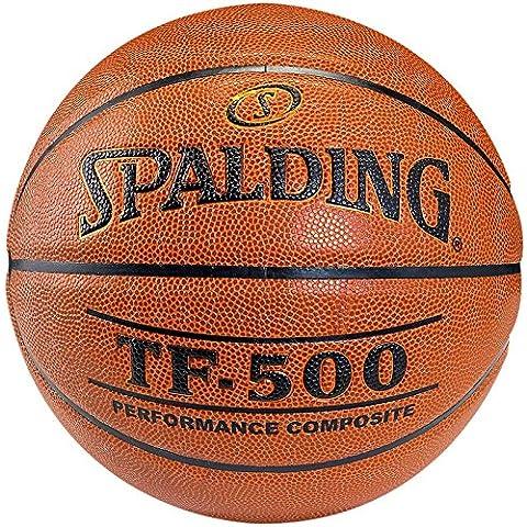 Spalding Spalding Tf500 Indoor Sz.6 - Pelota de baloncesto ( indoor, cuero, talla 6, juego, composite ), color naranja, talla FR: