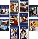 Greetingsbox Card Packs witzige Geburtstagskarten für Frauen, 8 Stück