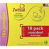 Zwitsal Sensitive Billendoekjes voor de gevoelige babyhuid - 18 x 57 - Voordeelverpakking