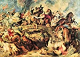 The Museum Outlet-Amazon Battle by Rubens-Poster Print Online Buy (101,6x 127cm)