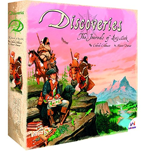 Preisvergleich Produktbild Ludonaute 217642 - Discoveries - The Journals of Lewis and Clark, Brettspiel