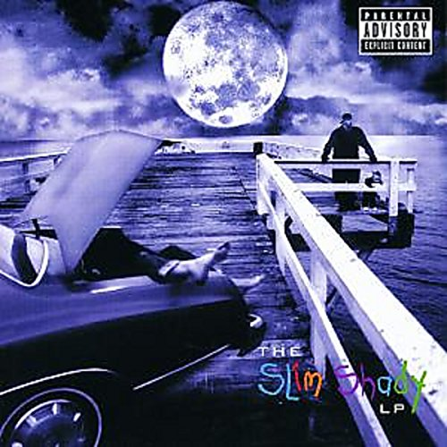 Book's Cover of The Slim Shady Lp