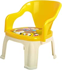 Baybee Pop N up Strong Durable Baby Chair | Home School Study Plastic Chairs for Boys & Girls Unisex