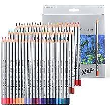 newdoer 72arte dibujo lápices de colores Set lápices de colores, en caja, este es el mejor para colorear para adultos Libros Escuela Arte Artista Dibujo Escritura SECRET GARDEN (72colores)