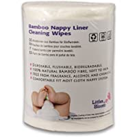 Littles & Bloomz, Flushable Biodegradable Disposable Cloth Nappy Diaper Bamboo Liners