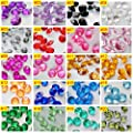 TtS 1000pcs 3/4.5/6MM OR 100pcs 10MM Scatter Diamonds Table Crystals Acrylic Confetti Wedding Party - low-cost UK light store.