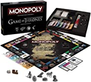 Monopoly Game of Thrones Table Board Game Collector's Edition Fast Dealing Property Trading Game Family Fun Educational Puzzl