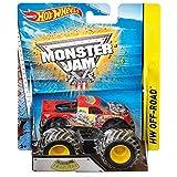 Hot Wheels - Vehículo Monster Jam 4modelos (Mattel BHP37)