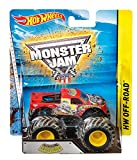 Hot Wheels - Vehículo Monster Jam 4modelos (Mattel BHP37) ,...