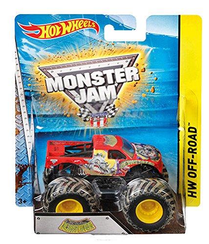 ferngesteuerte hot wheels Mattel Hot Wheels BHP37 Monster Jam Fahrzeug, je 1 Fahrzeug, zufällige Auswahl(Sortiert)
