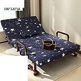 Klappbett/Einzelbett/Bettruhe/Einfach Folding Sessel/Büro-nickerchen/Unsichtbare Couch-T