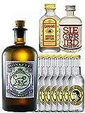 Gin-Set Monkey 47 Schwarzwald Dry Gin 0,5 Liter + Siegfried Dry Gin Deutschland 4cl + Gordons Dry Gin 5cl + 8 Thomas Henry Tonic Water 0,2 Liter