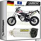 ARROW KIT AUSPUFF THUNDER CARBONKAPPE YAMAHA WR 125 X 2012 12 2013 13 2014 14 52505AK
