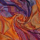 Lorenzo Cana High End Luxus Wolldecke aufwändig Jacquard gewebtes Muster bunt flauschig weich Decke 100% Wolle Wohndecke Sofadecke Wohndecke 96211