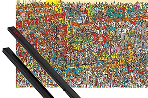 Poster + Suspension : Art Virtuel Poster (91x61 cm) Où