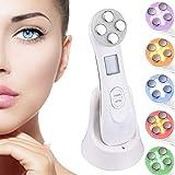 Facial Aparato Radiofrecuencia, 6 Modos de Terapia de luz LED, Antiarrugas, Anti-envejecimiento, Rejuvenecimiento, Limpieza P