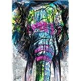 Impresión en metacrilato 80 x 110 cm: Elephant - Wisdom de Franz Rauenschwender