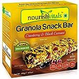 #8: Nourish Vitals Granola Snack Bar - Cranberry & Black Currant (5 Bars) - 250g