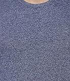 B&W Men's Premium Grindle Round Neck T-Shirt - Navy Blue 4