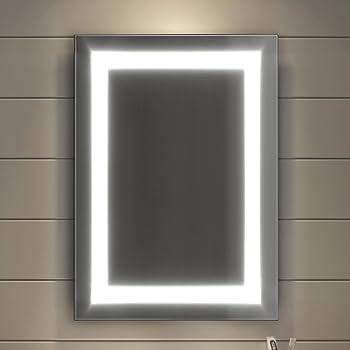 Soak Miroir Salle De Bains Moderne Eclairage Led Dispositif Anti