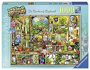 WIDMANN Ravensburger - Puzzles 1000 Piezas, diseño Colin Thompson, The Gardener