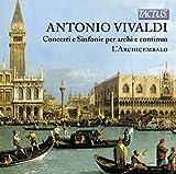Vivaldi : Conciertos Y Sinfonias / L´Archicembalo