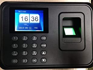 Pramukh Enterprice Biometric Attendance Machine with USB Plug & Play (Fingerprint Based Time & Attendance System)