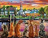 Dockside Cani Jigsaw Puzzle 1000 pezzi