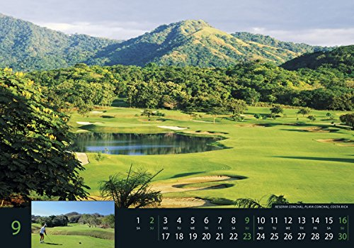 Golf 2018 - Sportkalender / Golfkalender international (49 x 34) - 11